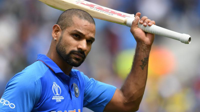 With scores of 1, 23, 3 in the Twenty series and single-digit score of 2 in the second ODI, Dhawan's comeback post injury has been far from ideal. (Photo: AFP)