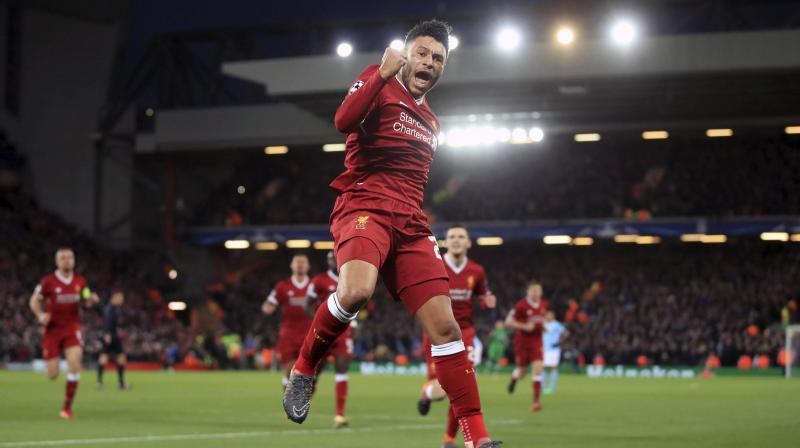 Liverpool fans inspired us against Manchester City, insists Oxlade-Chamberlain