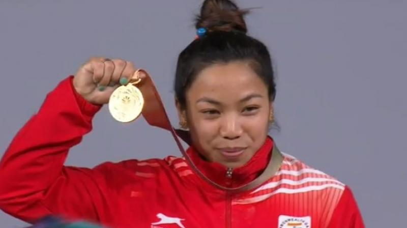 Weightlifter Mirabai Chanu claims India's first gold at CWG