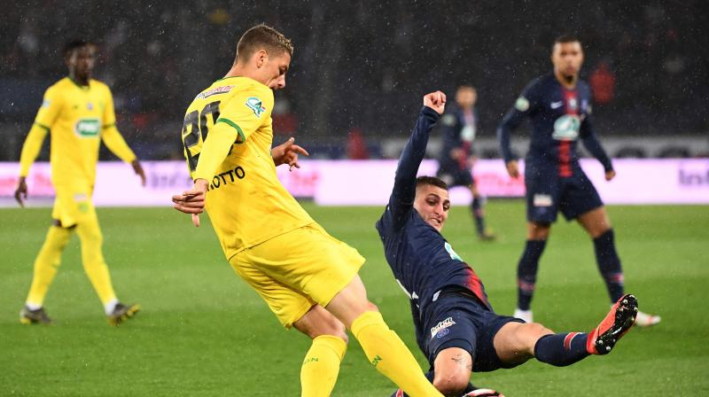 While the French league title has already been secured, a string of glaring individual errors, poor defending at set pieces and a lack of determination have seen PSG win just once in six games and concede 16 goals, including 11 in three straight away defeats. (Photo: AFP)