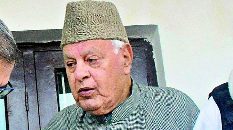 'We hope the Army and police will not carry out such operations in the future,' said Farooq Abdullah. (Photo: File)