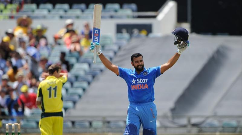 Rohit Sharma scored 333 runs in 17 games for Mumbai Indians batting at No 4. (Photo: AFP)