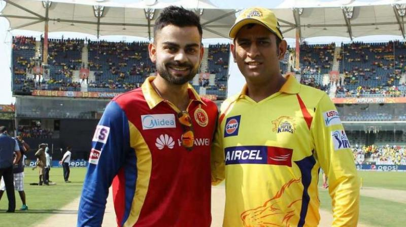 The much-awaited South Indian derby between Virat Kohli-led Royal Challengers Bangalore and MS Dhoni's Chennai Super Kings is all set to resume as they lock horns in the 24th Indian Premier League on Wednesday