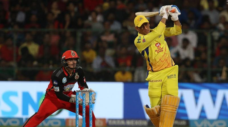 MS Dhoni scored 70 runs as he guided CSK to a five-wicket win against