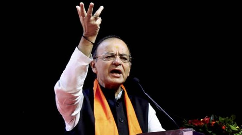 Jaitley slams Pakistan, says nation supporting terrorism has no place in world