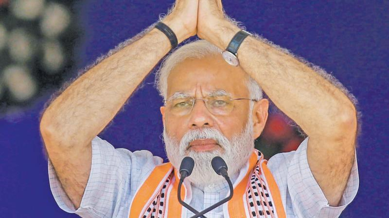 According to the report, Modi had over 43 million followers on Facebook, about 47 million followers on Twitter and more than 20 million followers on Instagram. (Photo: File)