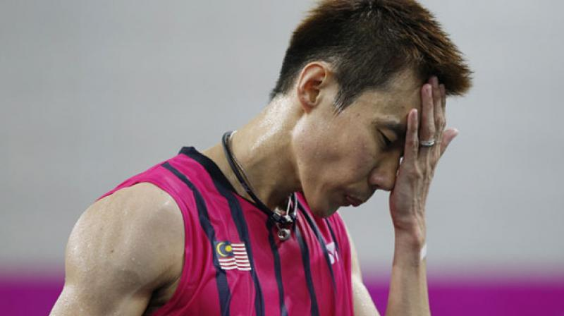 Chong Wei looked nervous and was outplayed at the net for much of the 75-minute match with Leverdez, against whom he had a 7-1 record. (Photo: AP/ File)