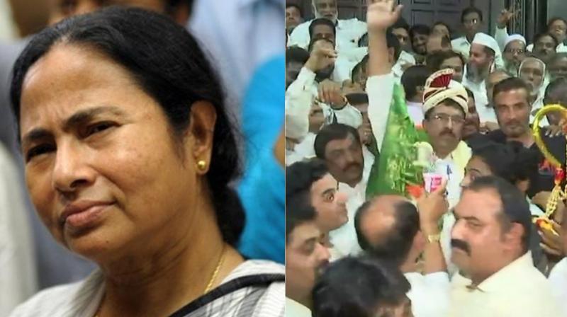 Trinamool Congress bags four West Bengal Rajya Sabha seats; ruling Congress in Karnataka bags three Rajya Sabha seats. (Photo: ANI/Twitter)