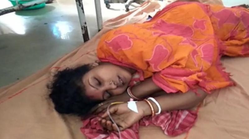 Two persons have died, a few injured and among those two are in very critical condition, Banerjee, who rushed to the National Medical College and Hospital, where the injured were admitted, told reporters.  (Photo: ANI)
