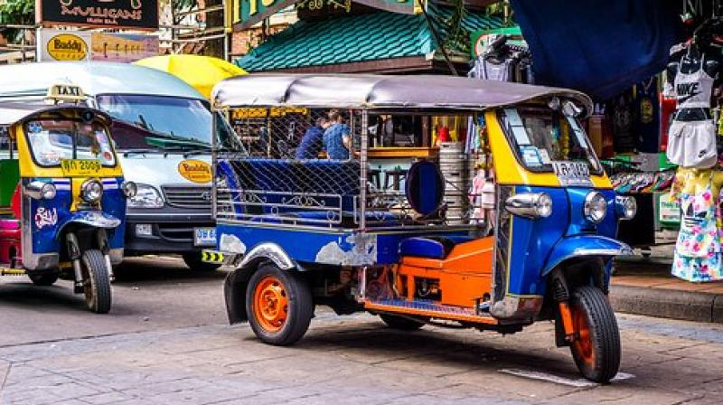For some, sitting in a tuk-tuk as it teeters and rumbles over Jakarta's roads offers a connection to an older way of life. (Photo: Pixabay)