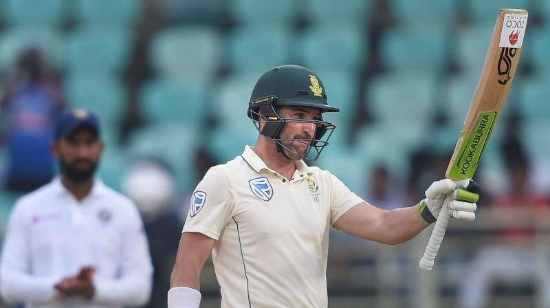 """South Africa opener Dean Elgar says he got """"stretched"""" as a cricketer and learned a lot more about himself during what has been a humbling India tour. (Photo: PTI)"""