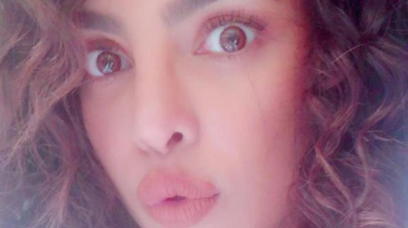 Priyanka Chopra posts a selfie.