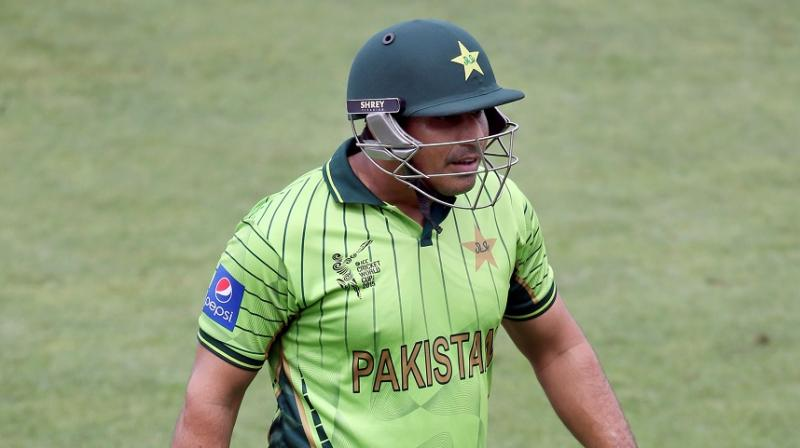 Nasir Jamshed has played two Tests, 48 one-day internationals and 18 T20s for Pakistan until 2015. (Photo: AFP)