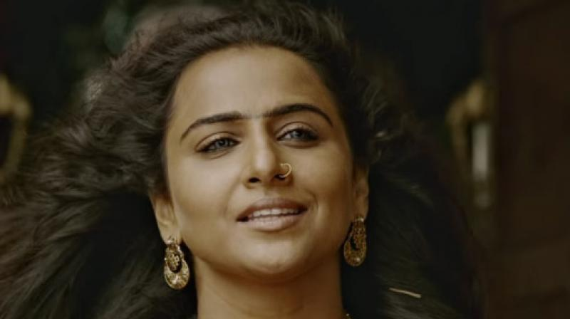 Vidya Balan in and as 'Begum Jaan'.