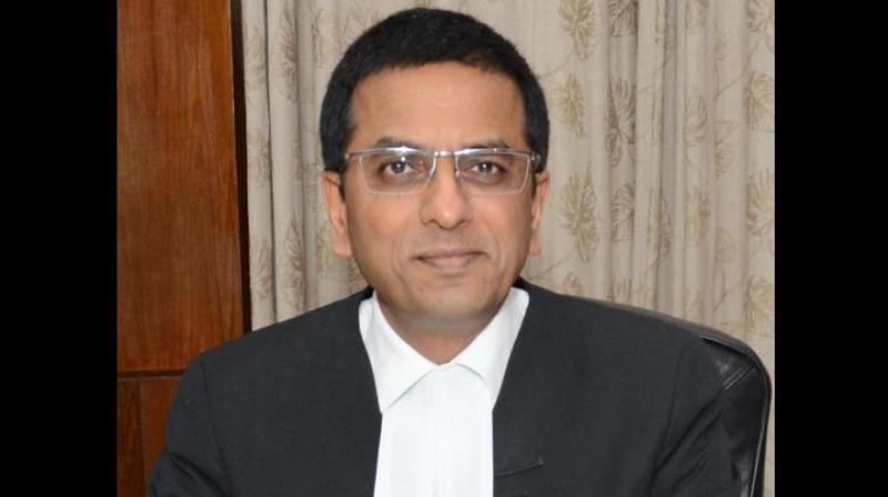 in August last year, Justice DY Chandrachud had overruled another of his father's judgement while delivering the verdict on the issue of privacy. (Photo: File)