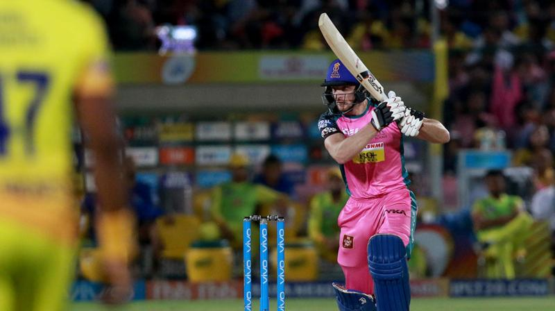 Rajasthan's sole win came against laggards Royal Challengers Bangalore at the Sawai Man Singh Stadium here and they would be banking on home comfort to upset defending champions CSK. (Photo: BCCI)