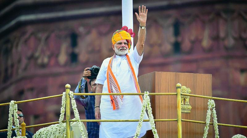 Prime Minister Narendra Modi's announcement on the appointment of a Chief of Defence Staff (CDS) was a much-awaited endorsement of the recommendation made by the Group of Ministers (GoM) in February 2001, in the aftermath of the Kargil conflict. (PTI)