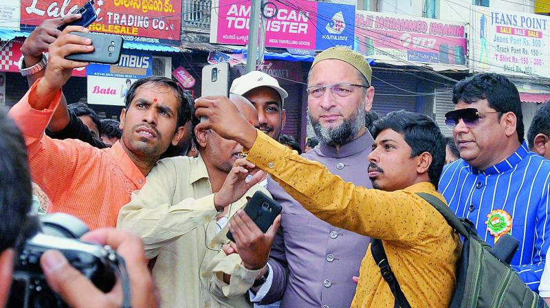 GHMC polls: Sailing easier for AIMIM, BJP, TRS in 50 Old City seats - Deccan Chronicle