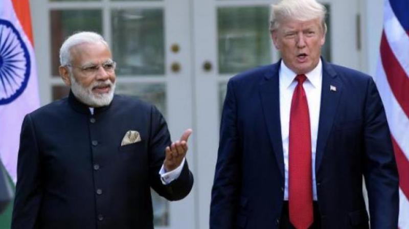 If a trade deal with the US is indeed announced during Mr Modi's visit, it is expected to assuage President Trump's concerns about levy of duties on American goods as well as the increase in US imports by India. (Photo: File | AP)