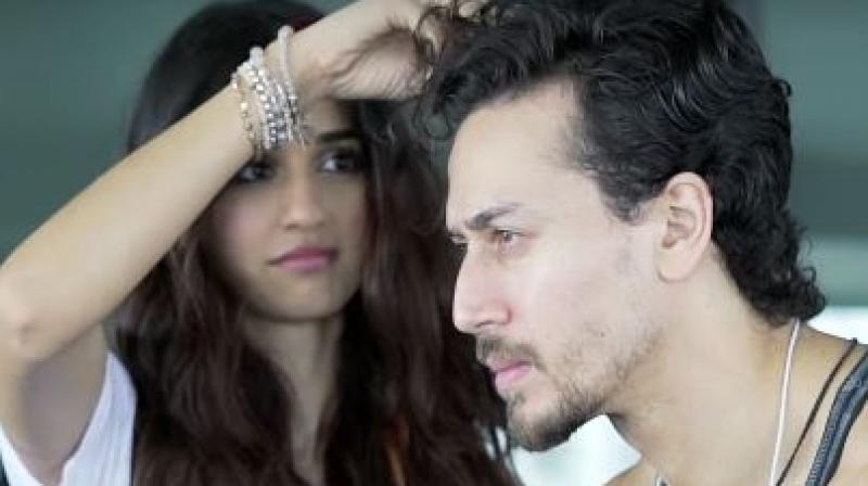 Baaghi 2 Tiger Was Nervous About Hair Transformation Disha Made