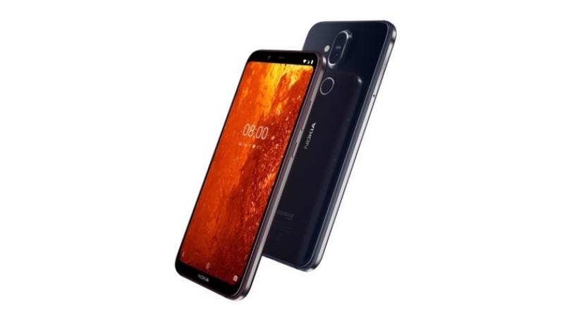 The Nokia 8.1 features a 12MP main camera with ZEISS Optics with a 1/2.55-inch super sensitive sensor with large 1.4 micron pixels for better light capture