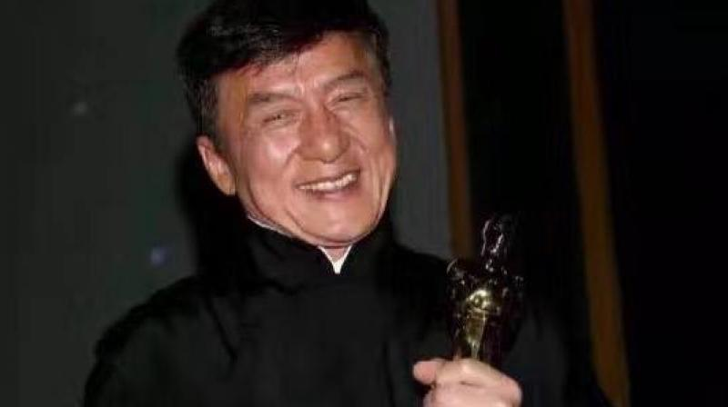 Jackie took to social nedia to express his joy. He posted this picture on Facebook, captioning it : So honored and happy and lost for words! (Pic courtesy: Facebook/ Jackie Chan).