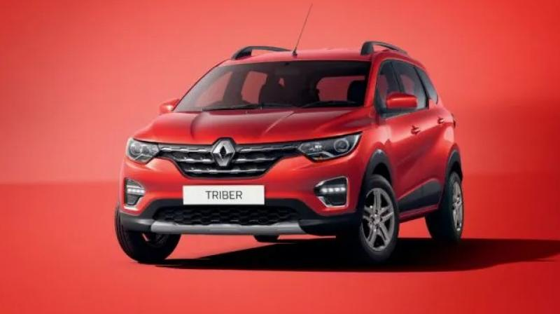 The Renault Triber will feature a 1.0-litre, 3-cylinder petrol engine which churns out 72PS of power and 96Nm of peak torque