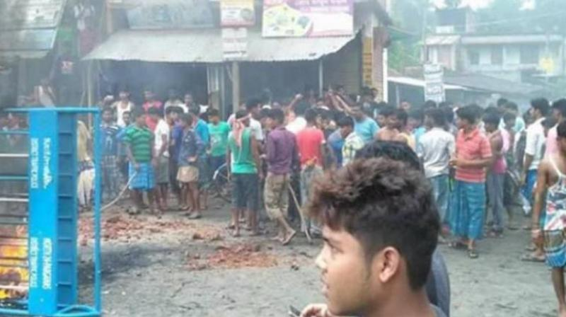 Communal violence broke out in North 24 Parganas district on Monday over a controversial Facebook post. (Photo: Facebook)