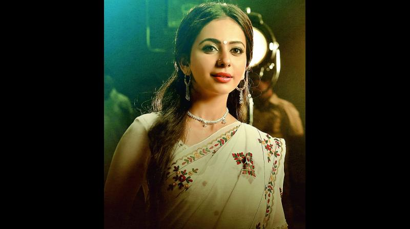Rakul Preet Singh's look from the film
