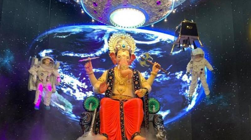 Ganesh Chaturthi and its vibrant celebrations, a little is known about the beautiful, elegant themed decorations that Maharashtrians do before welcoming Vignaharta to their homes.