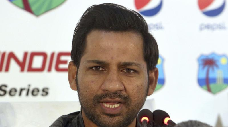 There was speculation in the local media about keeping Sarfraz as the captain after he was banned for four matches last month by the ICC for racially taunting Andile Phehlukwayo.(Photo: AP)