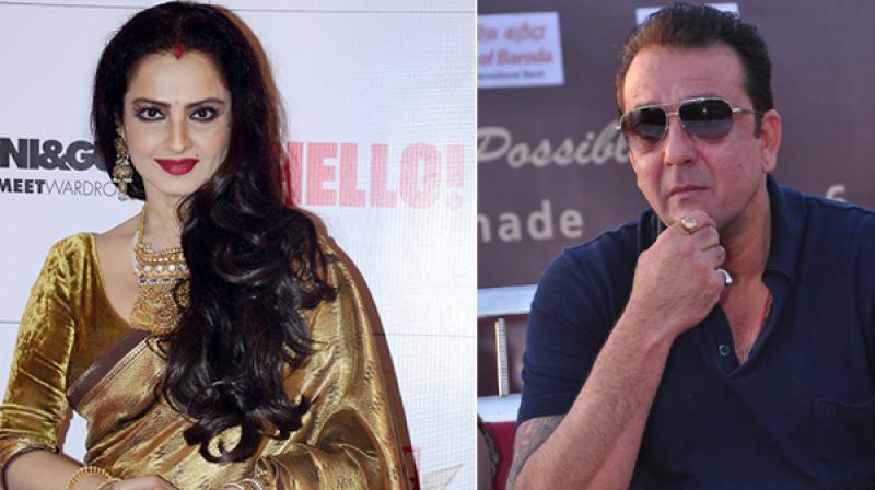 Rekha had performed to a song in Sanjay Dutt's 'Parineeta.'