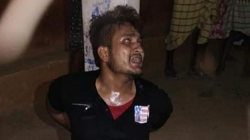 Tabrez Ansari succumbed to his injuries after being attacked by the mob on the suspicion of stealing a motorcycle on June 18 in Jharkhand's Dhatkidih village.    (Photo: twitter)