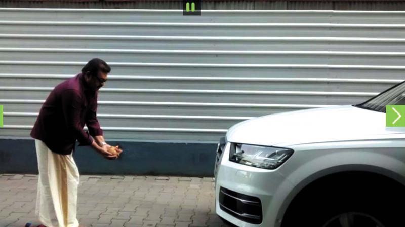 Suresh Gopis Audi Car Raises Many An Eyebrow - Audi car number