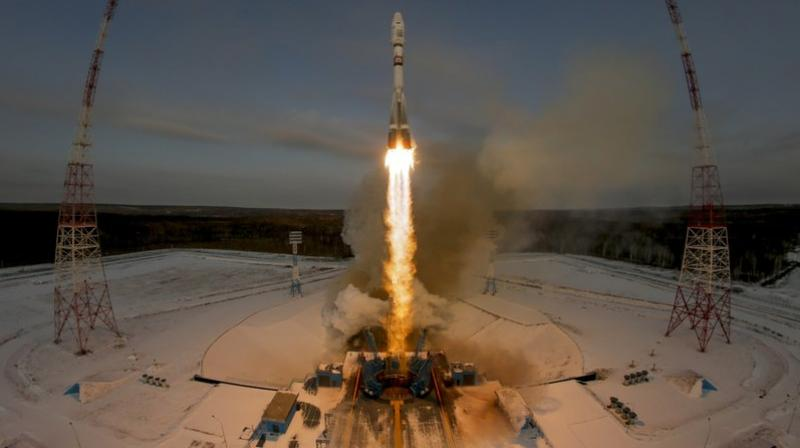 In April last year, after delays and massive costs overruns, Russia launched its first rocket from Vostochny. (Photo: AP)