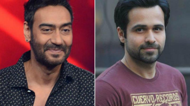 Emraan Hashmi and Ajay Devgn would be hoping for a success in 'Baadshaho' similar to their last film together 'Once Upon a Time in Mumbaai.'