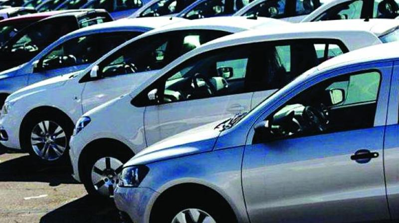 Domestic car sales were down 35.95 per cent at 1,22,956 units as against 1,91,979 units in July 2018.