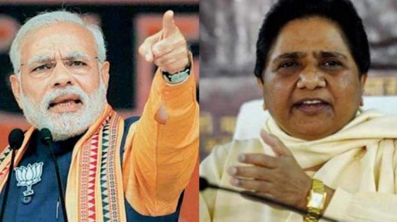 Bahujan Samaj Party chief Mayawati and Prime Minister Modi clash over Alwar gangrape case. (Photo: File)