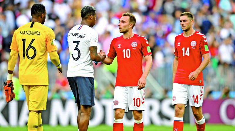 Denmark and France played out the first goalless draw of the 2018 World Cup.