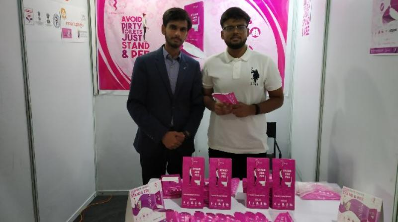 The device has been launched with a #StandUpForYourself campaign under which one lakh free samples of the product will be distributed to women across the country. (Photo: Twitter | @SanfeWomen)