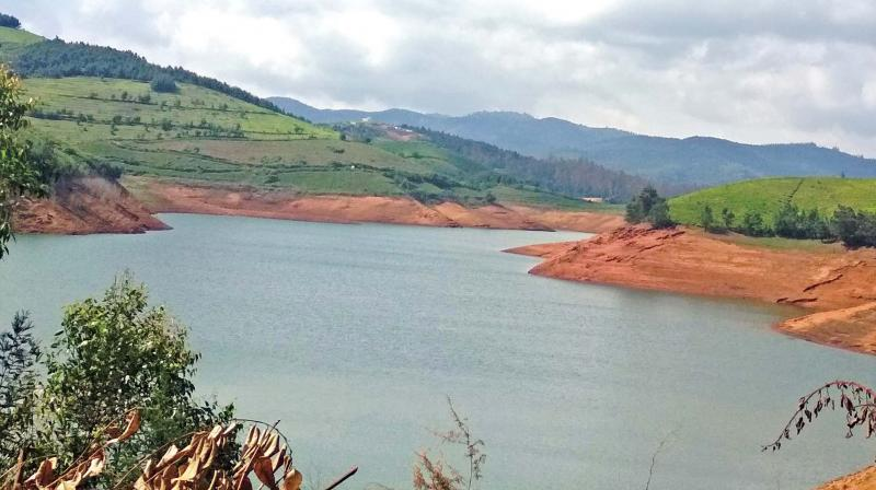 Emerald reservoir near Ooty from where new water  supply scheme is proposed to supply water to the  Coonoor town. (Photo: DC)