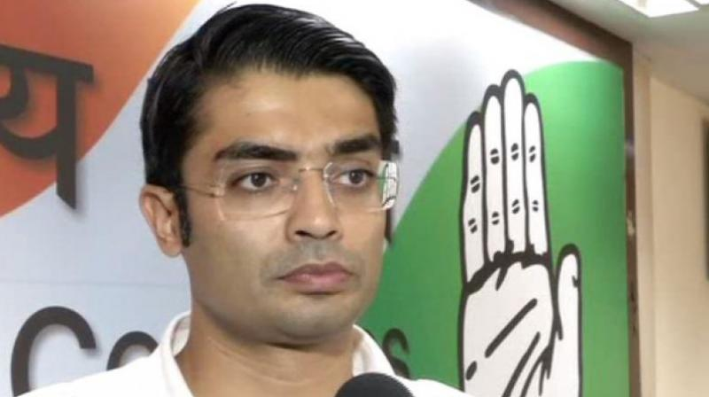 Congress leader Jaiveer Shergill targeted the government and said 'this proves beyond doubt that Modi government is not a guardian or protector of public money but a travel agency facilitating fraud and happy safe flying of wilful bank loan defaulters'. (Photo: File)