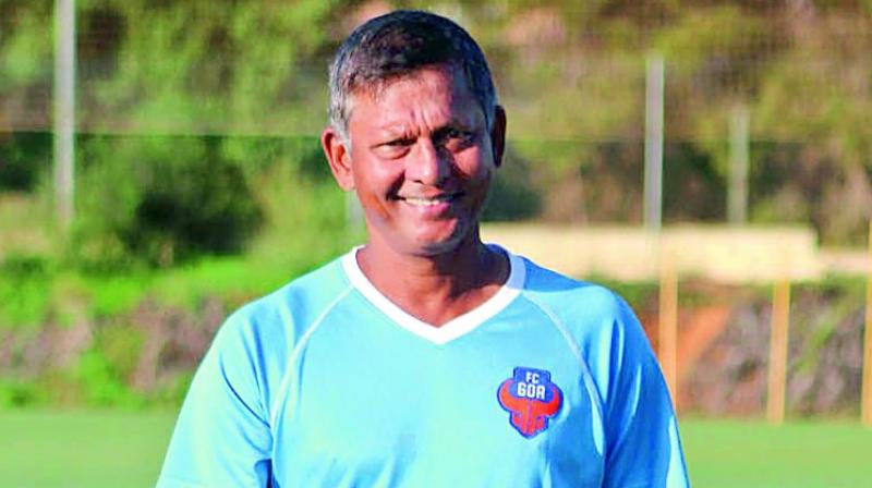 Coach Derrick Pereira, technical director, FC Goa.