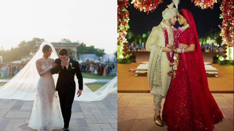Photos from Nickyanka wedding. (Photo: Instagram/ Priyanka Chopra)