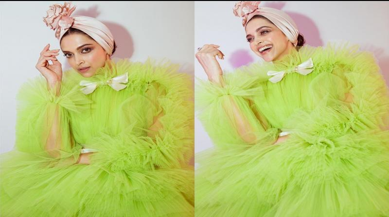 Deepika Padukone in green at Cannes 2019. (Photo: Instagram)