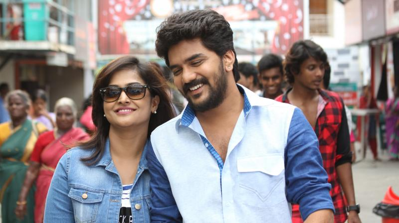 Natpuna Ennanu Theriyuma movie still.