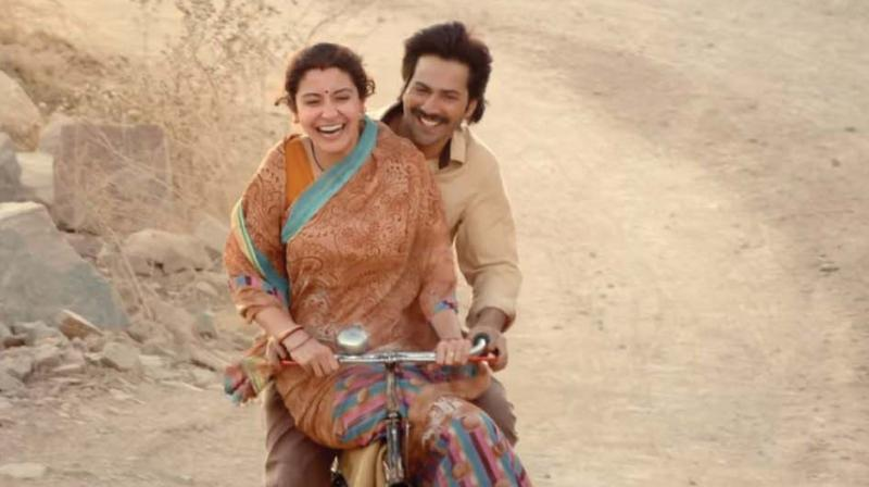 A still from the movie Sui Dhaaga.