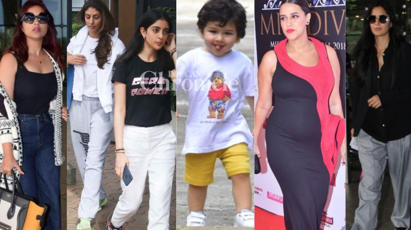 Paparazzi succeeding in capturing B-Town celebrities at various locations in Mumbai on Friday. (Photos: Viral Bhayani)