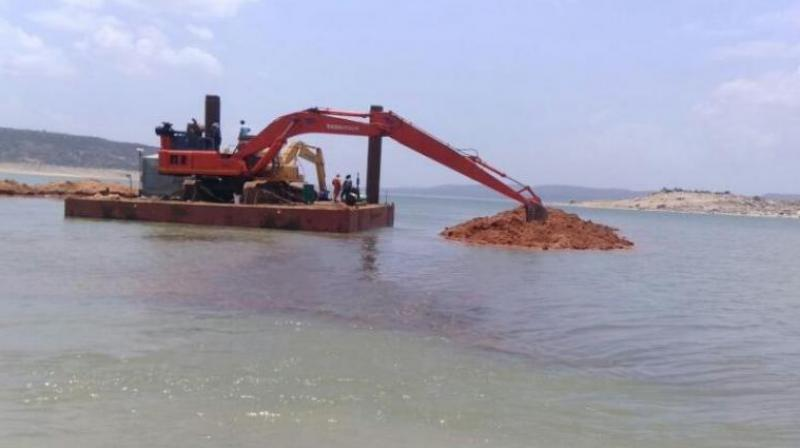 An asset valuer has started assessing the assets of the Dredging Corporation of India
