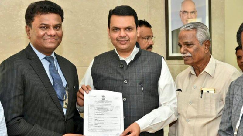 Amol Yadav has promoted Thrust Aircraft Private Limited company for manufacturing aircraft. (Photo: Facebook | CMOMaharashtra)
